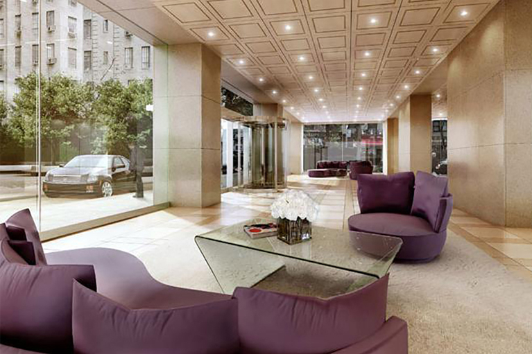 The Sheffield Lobby - Project by Liberty Door Inc.